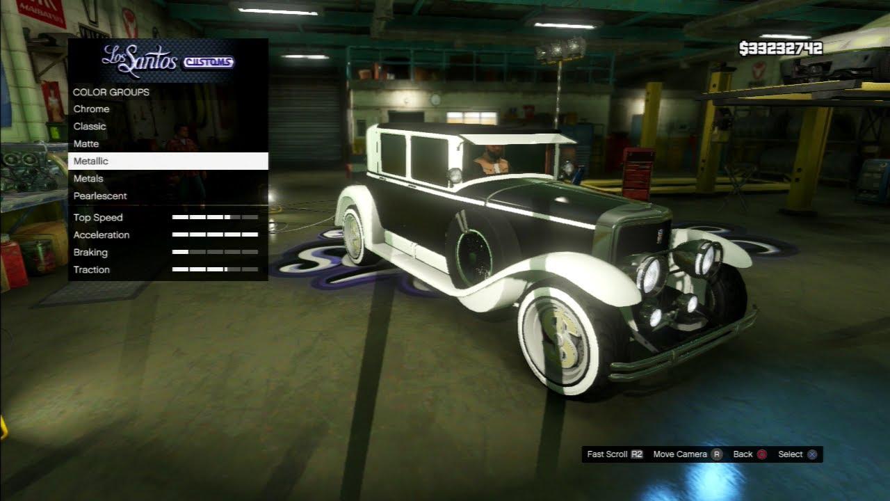 Gta V Pimp My Ride Albany Roosevelt Cadillac Town Sedan