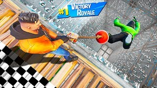 Playing The HARDEST CO-OP DEATHRUN GAME in Fortnite!