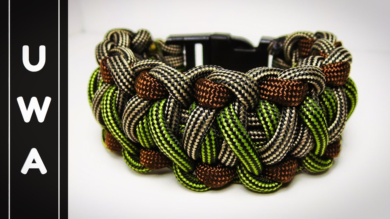 How To Make The Timberland Paracord Survival Bracelet Uwa Original Tutorial
