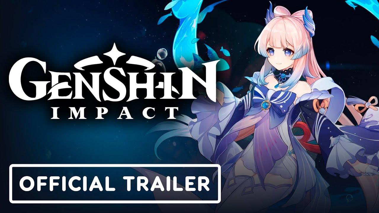 Genshin Impact - Official Sangonomiya Kokomi Character Demo Trailer