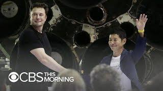 Japanese billionaire Yusaku Maezawa books first SpaceX moon voyage