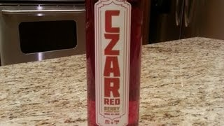 Vodka Review: Czar Red Berry Infused Vodka