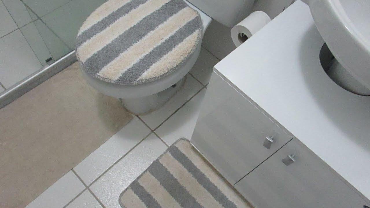 Comprinhas para o Lar  Banheiro  Ferreira Costa  YouTube -> Armario Para Banheiro Ferreira Costa