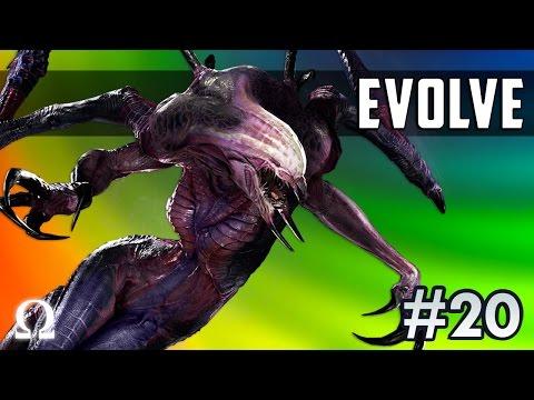 NIGHTMARE MONSTER, WRAITH FRENZY! | Evolve Stage 2 #20 Wraith Monster Gameplay