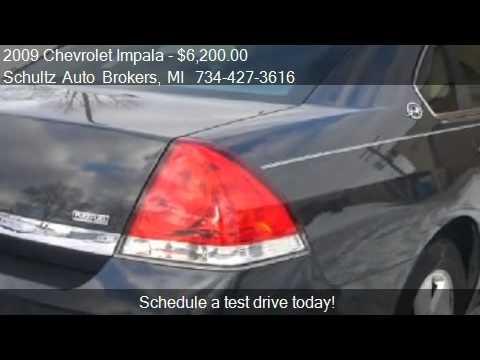 2009 Chevrolet Impala LT for sale in Livonia, MI 48150 at Sc