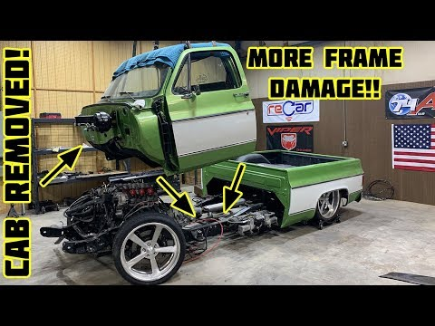 Rebuilding Gas Monkey Garage Wrecked 1976 Chevy C10 Part 3
