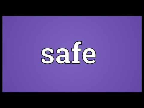 safe-meaning