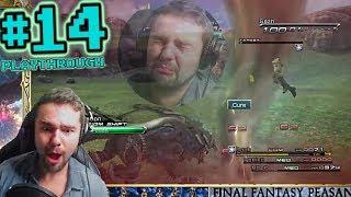 Alexander Eidolon And Suffering Cieth Stones! - FFP Plays: Final Fantasy XIII | Pt 14 (PC)