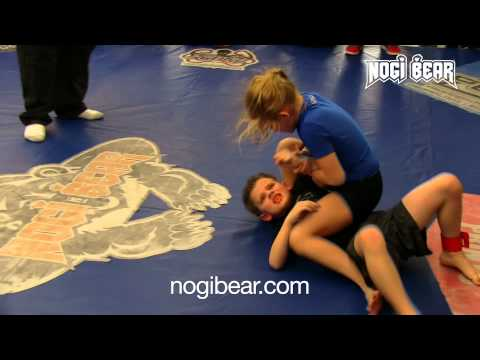 Kayleigh Germadnig vs Mikey Sperrazza • Nogi Bear® Kids Championships 2014 No-Gi