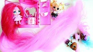 КУКЛ� ЛОЛ � Самыми Длинными ВОЛОС�МИ !!! Кукла LOL #Hairgoals !!  Видео дл� детей