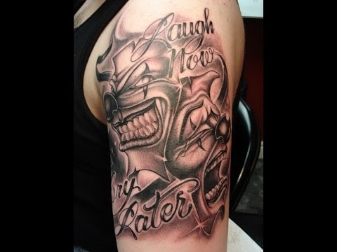 Upper arm tattoo design ideas youtube for Upper arm tattoos