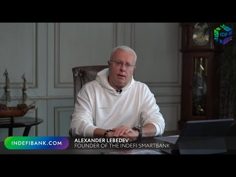 Alexander Lebedev on the global banking, the crypto industry and decentralized finance revolution