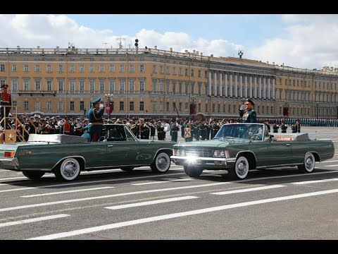 St. Petersburg Victory Day Military Parade 2017