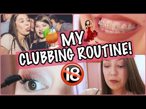My Clubbing Routine! | Amy Wragg