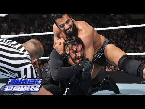 Dean Ambrose & Seth Rollins vs. Jinder Mahal & Drew McIntyre: SmackDown, March 28, 2014