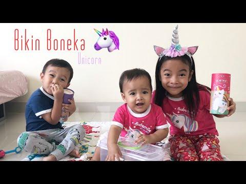 Avenir Sewing Unicorn | Zara Cute membuat Boneka Unicorn | Menjahit untuk Anak