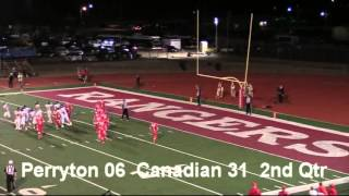 Perryton Vs Canadian 2015