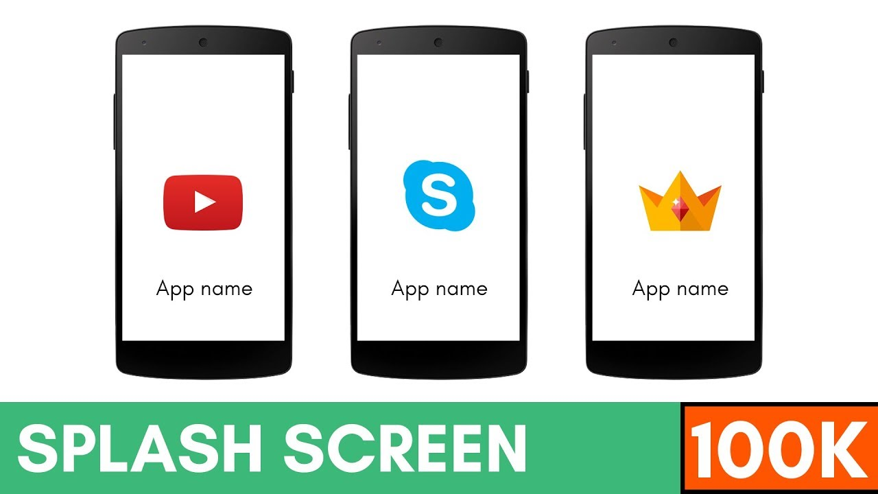 How to Create Welcome Screen (Splash Screen) in Android Studio