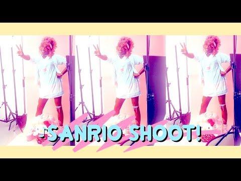Photoshoot with SANRIO
