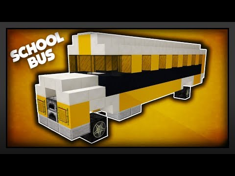 Minecraft - How To Make A School Bus