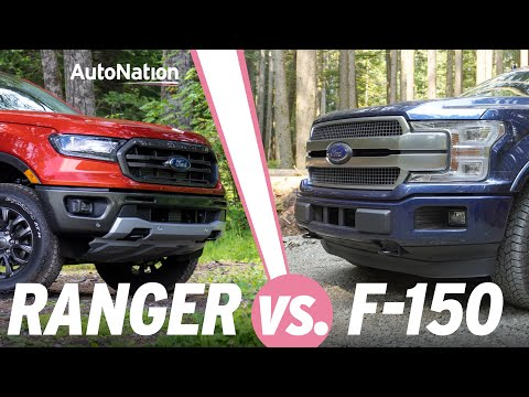 Ford F150 vs Ranger: Which is the Better Truck? #autonationdrive