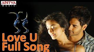 Love U Full Song ll Keka Movie ll Raja, Ishana