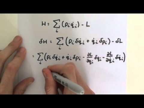 Derivation of Hamilton's Equations