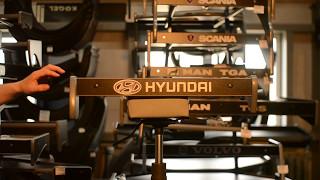Стол полка в кабину HYUNDAI HD 72 78 малый смотреть