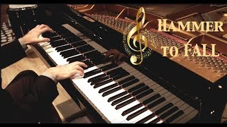 Queen - Hammer To Fall - piano cover - HD HQ 🔴