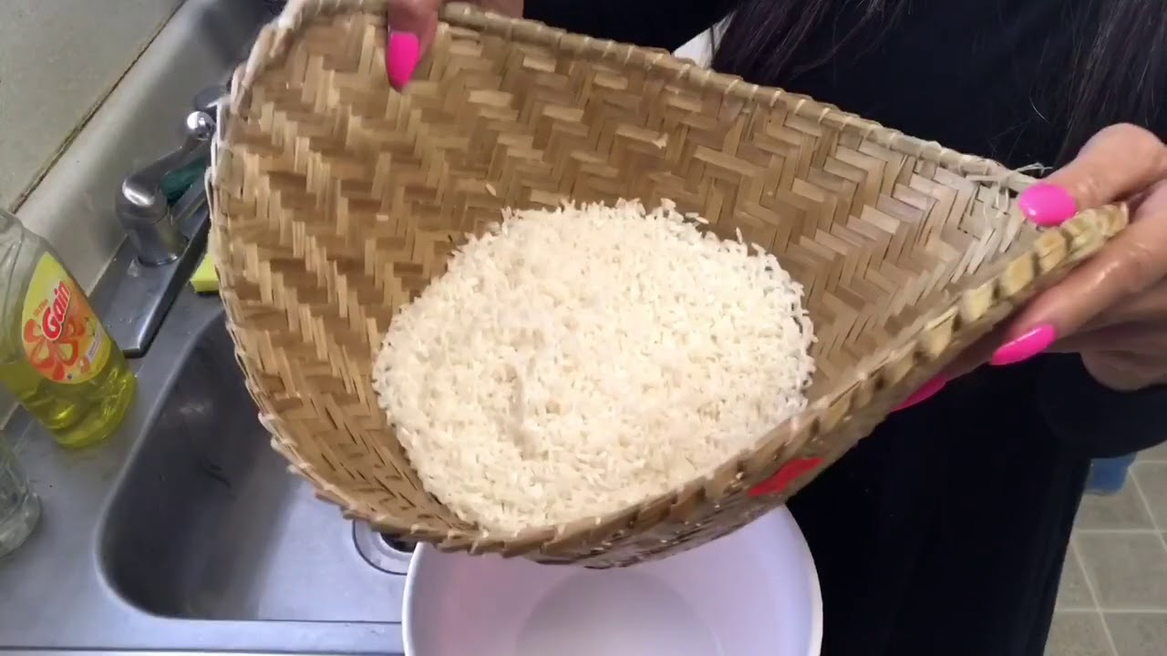 How to cook sticky rice. - YouTube