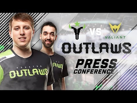 Houston Outlaws Press Conference Stage 2 Week 3 (Los Angeles Valiant)