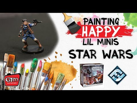 Painting Happy Lil Minis: Star Wars Imperial Assault by FFG