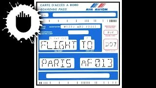 Mysto & Pizzi - Flight to Paris (Cover Art)