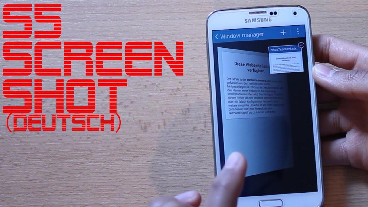 Screenshot Samsung A40 Deutsch