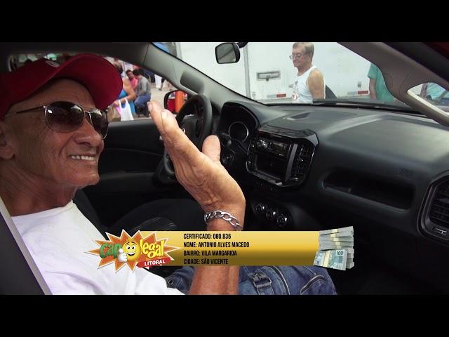Antonio Macedo, de São Vicente, Levou 1 TORO 0KM