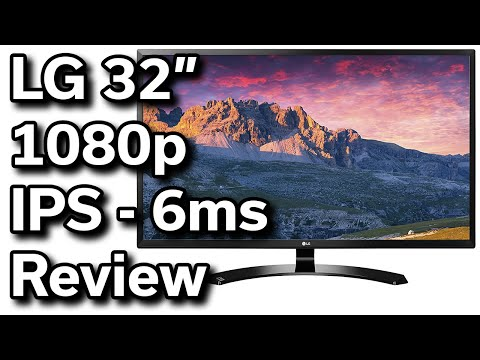"$200 - 32"" LG 1080p IPS Monitor - Unboxing & Review"