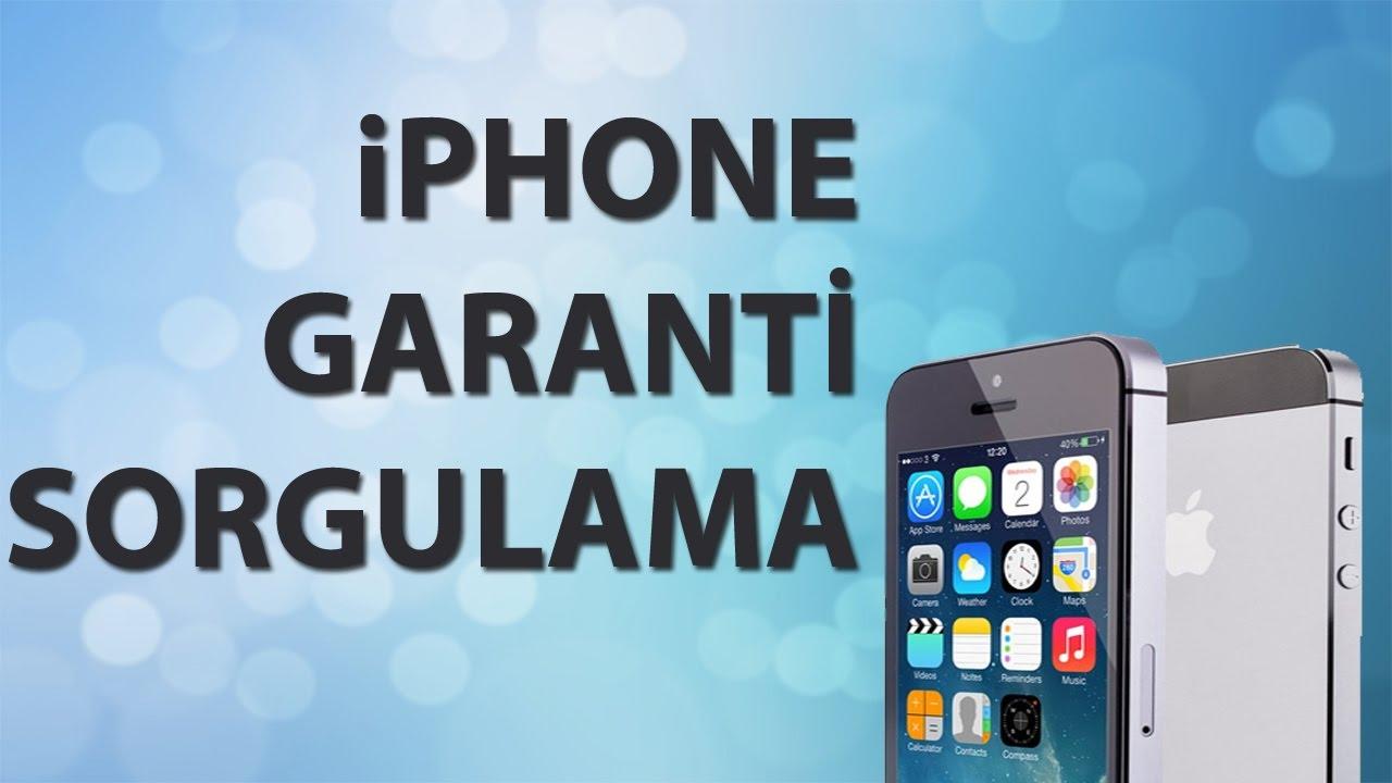 iPhone Garanti Süresi Nasıl Sorgulanır - Ne Kadar Garantisi Kaldı?