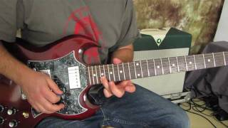 In the style of Guns N' Roses - November Rain Inspired - Guitar Solo Lesson part 2 - How to Play