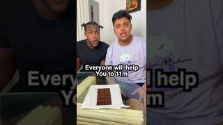 Insane Chocolate Magic Trick #Shorts