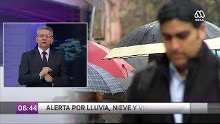 Nieve en Santiago: Revisa en qué comunas nevará este lunes