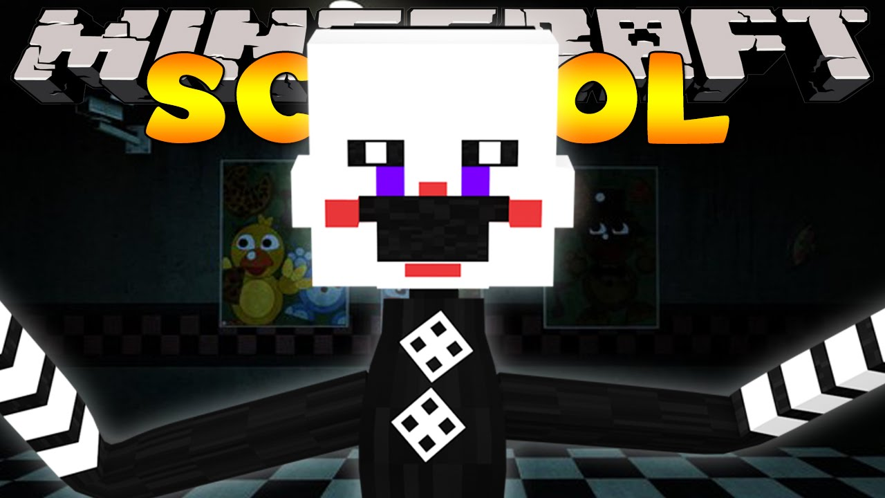 Minecraft School : FIVE NIGHTS AT FREDDY'S - NIGHT  #5  (Custom Roleplay)