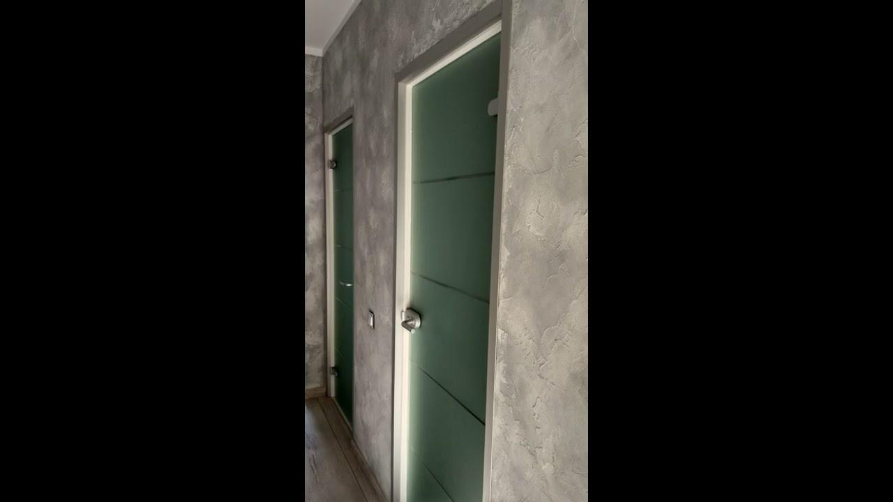 Стеклянная дверь в ванную и туалет? Это как?! История нашего ...