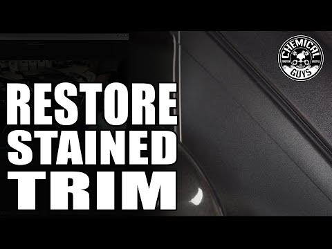 How To Remove Wax From Plastic Trim - Chemical Guys Detailing - Chevy Cruze