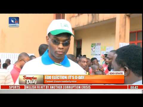 Edo Election: People Living With Disability Participate In Polls