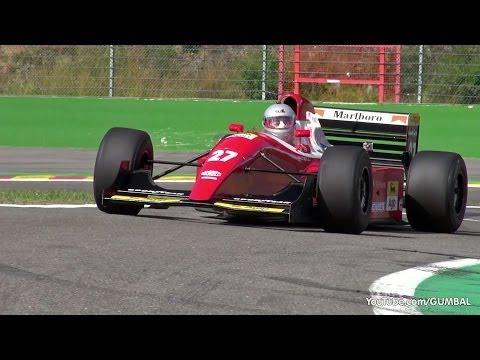 Ferrari F93A F1 ex Jean Alesi - V12 Screaming Engine Sounds!