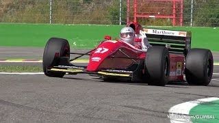 Ferrari F93A F1 ex Jean Alesi - V12 Screaming Engine Sounds!