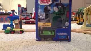 Thomas Wooden Railway: My Custom Engine Unboxing/review 2014