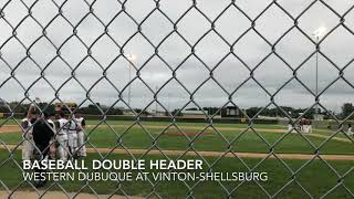 Baseball Highlights: Western Dubuque at Vinton-Shellsburg