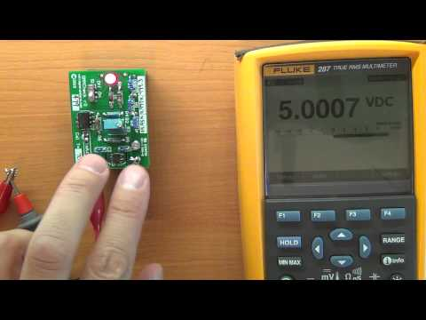 Voltage Standard Ref Tests - Digital Multimeter reference / accuracy check