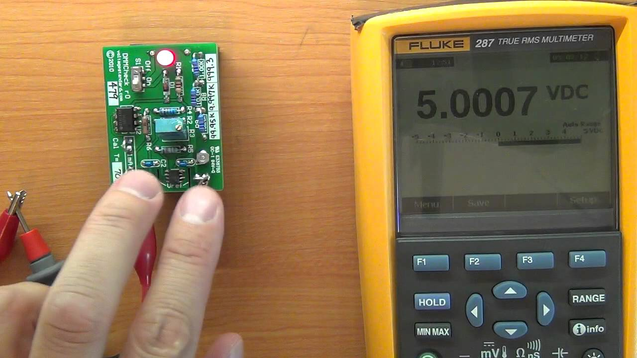 Voltage Standard Ref Tests - Digital Multimeter reference / accuracy ...